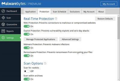 Malwarebytes free download