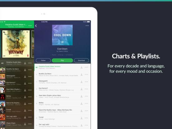 Saavn Music & Radio App Free Download Screenshot